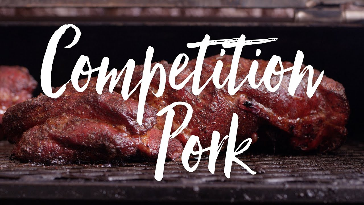Competition BBQ Pulled Pork Recipe