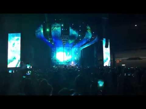 4K - Ed Sheeran - I See Fire & Feeling Good (Live) @ Ernst Happel Stadion, Vienna 2018 Austria