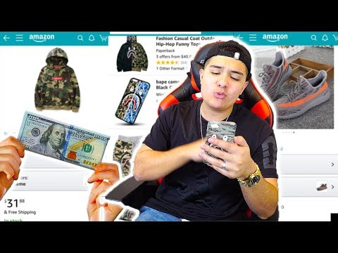 THE $100 AMAZON CHALLENGE!! (What Can You Buy For $100?)