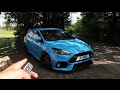 Here's WHY the Focus RS is one of the BEST HANDLING Hatches I've Driven!