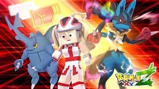 Minecraft : Pokemon XYZ #20 - MEGA LUCARIO VS GRENINJA!! ‹ Mayck ›