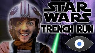 BEST R2D2 IMPRESSION | Star Wars Trench Run with the Oculus Rift