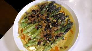 Turmeric and Green Garlic Curry with Grilled Asparagus | Sunset