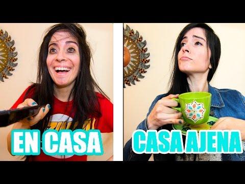 EN CASA VS EN CASA AJENA   iviiween