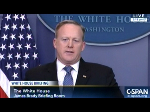 "Sean Spicer ""We Are Having To Address The Spread Of Radical Islam!"""