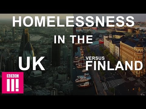Homelessness In The UK Versus Finland