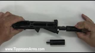 Tippmann M4 Low/High Velocity Valve Installation
