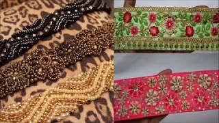 Heavy Work Lace For Dupatta ,Lehenga ,Suit ,kurti ,Saree