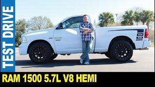 2014 Ram 1500 5.7L V8 hemi 2-door black rims loud dual exhaust   Jarek in Pinellas Park Florida USA