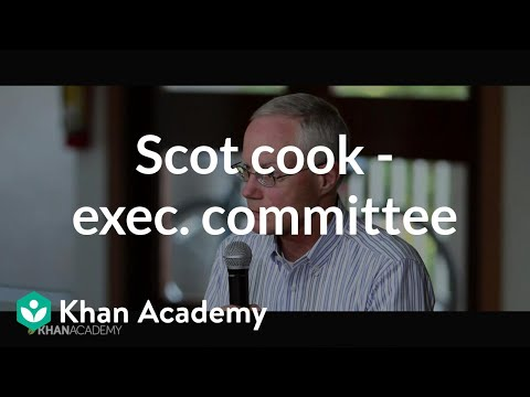 Scott Cook - Founder And Chairman Of The Executive Committee, Intuit | Khan Academy