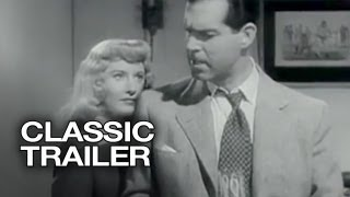 Double Indemnity Official Trailer #1 - Edward G. Robinson Movie (1944) HD