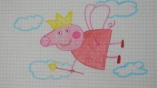 Peppa pig Как легко нарисовать Свинку Пеппу принцессу #9 / Easy how to draw peppa pig Princess(Все Видео Канала Рисуем Просто: https://www.youtube.com/channel/UCAELj3U5vke9DhuTJIabMGw Смотрим и рисуем вместе со мной! Спасибо..., 2016-09-06T20:30:32.000Z)