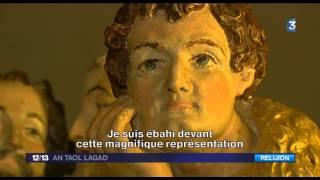 """CHATEAU KERJEAN exposition """"il était une foi"""". Sujet en langue bretonne sous-titré"""