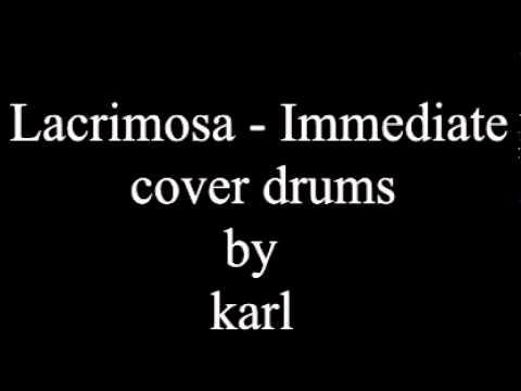 Lacrimosa - Immediate (choir) cover drums KarlitoRockero.mpg