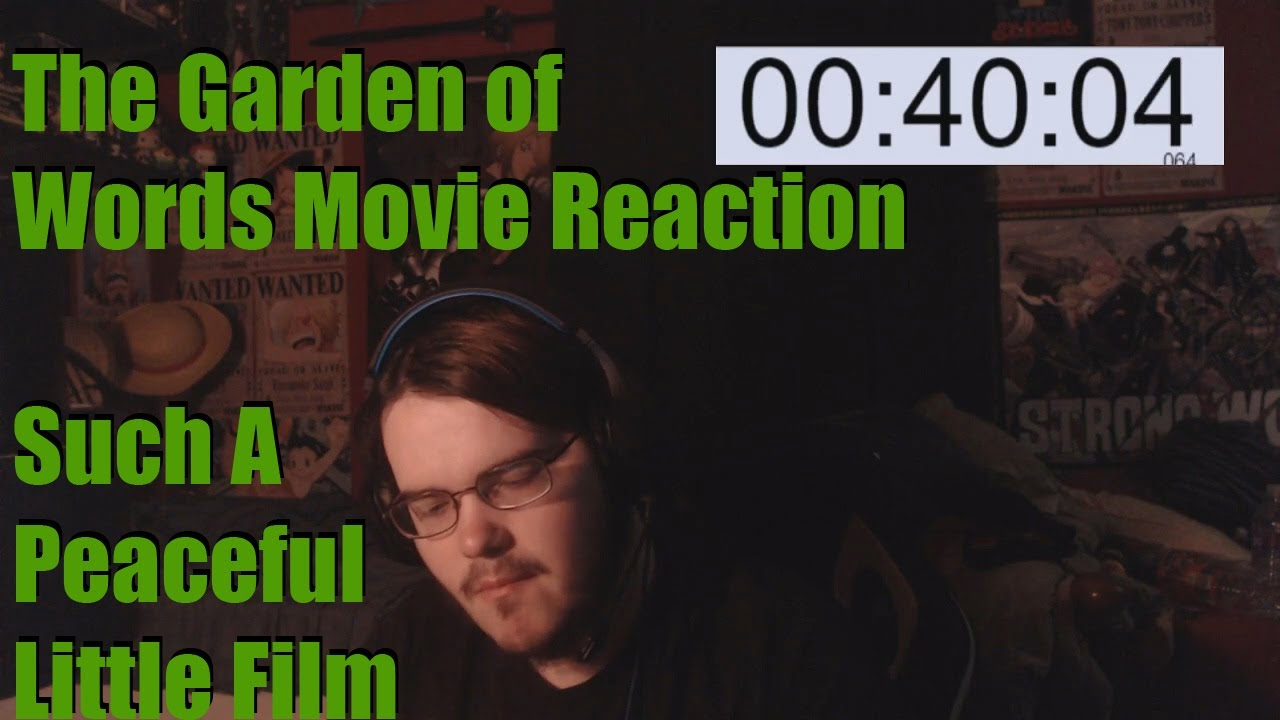 The Garden Of Words Movie Reaction Such A Peaceful Little Film Youtube