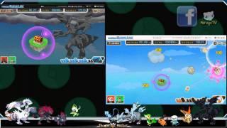 Pokémon Black & White: Unlocking Zekrom & Reshiram C-Gear Skins, also Pikachu & Minccino!