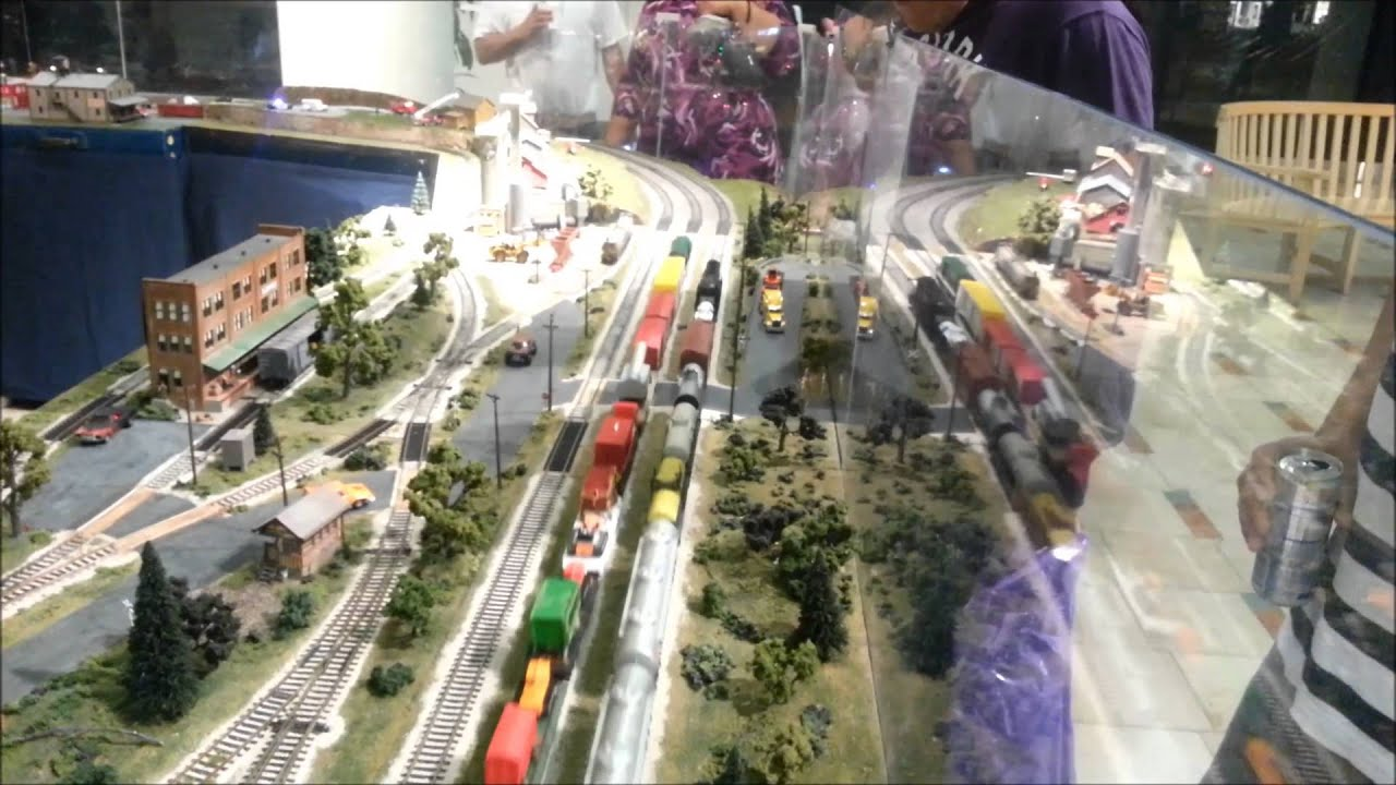 Crazy Model Train Set Hd Youtube