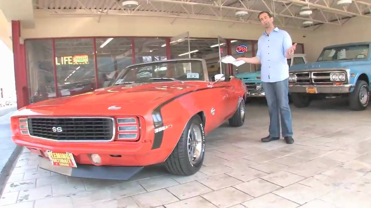 1969 Camaro For Sale >> 1969 Chevrolet Camaro RS/SS396 Convertible for sale with test drive, and walk through video ...