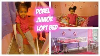 Dorel Junior Loft Bed - Shopkins Covers- REVIEW