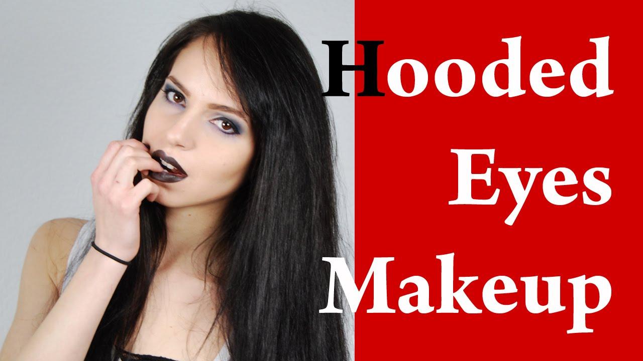 Deep Set Hooded Eyes Makeup Video Tutorial Part 1 Youtube