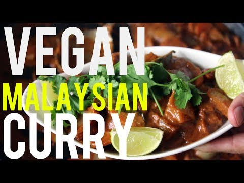 Vegan Malaysian Curry Recipe - Great for Weight Loss
