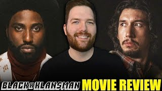 BlacKkKlansman - Movie Review