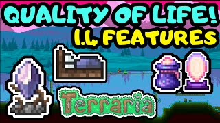 TERRARIA 1.4 QUALITY OF LIFE CHANGES! Amazing Additions and New Features in Terraria Journey's End!