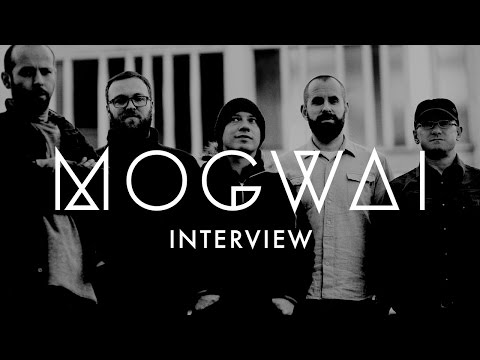 Mogwai at Sydney Opera House - Interview