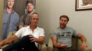 Tiny House Nation's John Weisbarth And Zack Giffin At Historycon Manila  Exclusive Interview