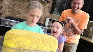 Pranking Trinity With the World's Biggest Twinkie Birthday Cake!!! Ends in Tears!
