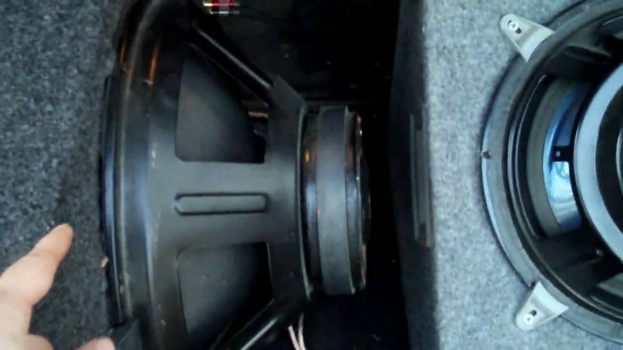 how to hook up two 4 ohms subwoofers   2 ohms on a mono