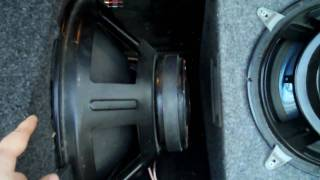 How To Hook Up Two 4 Ohms Subwoofers @ 2 Ohms On A Mono Block Amp