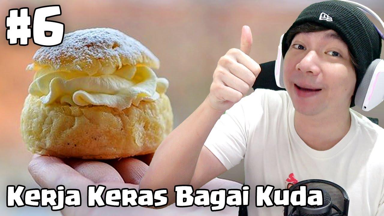 Kerja Keras Bagai Kuda - Bakery Shop Simulator Indonesia #6