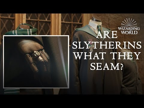 A Closer Look At Slytherin Costumes | Wizarding World