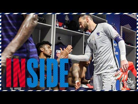 Dans l'intimité du vestiaire des Bleus à Nice, Equipe de France I FFF 2021
