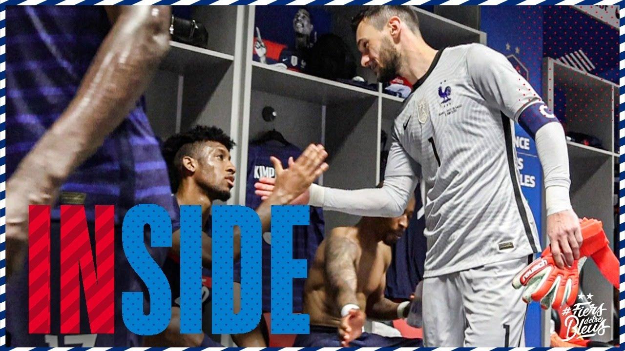 Download Dans l'intimité du vestiaire des Bleus à Nice, Equipe de France I FFF 2021