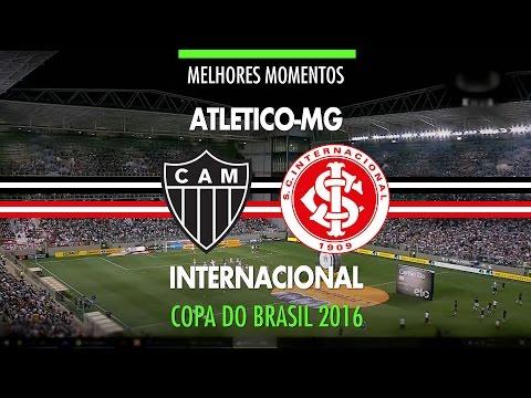 Melhores Momentos - Atlético-MG 2 x 2 Internacional - Copa do Brasil - 02/11/2016