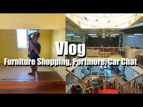 Vlog: Furniture Shopping, Portmore, Car Chat | Jamaica 2020 | Vlogust Day 8