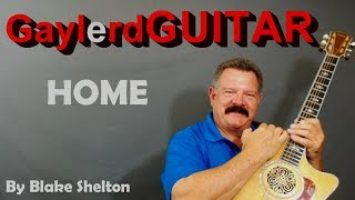 HOME - Blake Shelton with Intro  | Acoustic Guitar Lesson |  (PREVIEW)