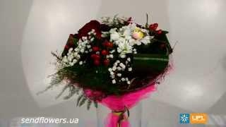 Букет Любимой девушке. Заказать цветы на 14 февраля - SendFlowers.ua(Заказать букет Любимой девушке прямо сейчас: http://www.sendflowers.ua/product/lubimoy_devushke Букет любимой девушке - это не..., 2014-02-12T20:39:41.000Z)
