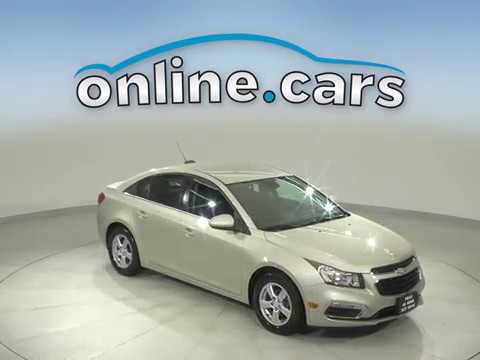 A13620GP Used 2016 Chevrolet Cruze Limited 1LT FWD 4D Sedan Gold Test Drive, Review, For Sale