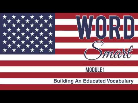 Word Smart  Building a More Educated Vocabulary