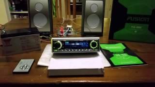 FUSION FCD-250S radio testing
