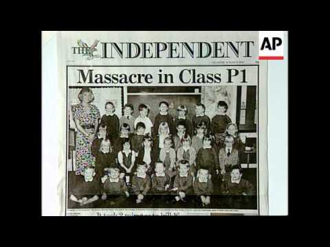 UK - Newspaper Headlines Of Massacre