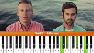 "How To Play ""Same Love"" (Macklemore & Ryan Lewis) Piano Tutorial"