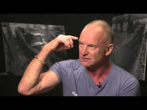 """Sting talks about his new musical """"The Last Ship"""""""