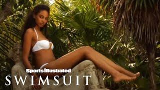 Ariel Meredith In White | Sports Illustrated Swimsuit