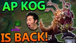 AP KOG'MAW IS BACK AND STRONGER THAN EVER - League of Legends PBE Commentary