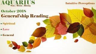 AQUARIUS   A Beautiful Disaster Awaits! Oct 2018 Love, Spiritual, & General Tarot Reading