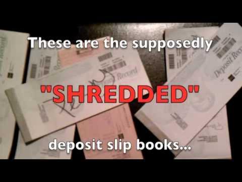 deposit slip books